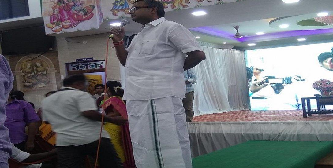 மாறிமாறி கேள்விகள்... மாணவர்களிடம் கலந்துரையாடிய கார்த்தி சிதம்பரம்!