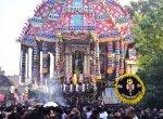 `விண்ணதிர்ந்த ஆரூரா.. தியாகேசா பக்தி முழக்கம்!' - திருவாரூர் ஆழித்தேரோட்டம் கோலாகலம்