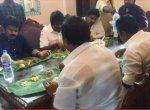 'ஒரு மணி நேரத்தில் இப்படி ஆகிவிட்டதே' -  ஜே.கே.ரித்தீஷ் உடலுக்கு  அமைச்சர் விஜயபாஸ்கர் அஞ்சலி