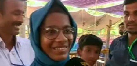சிறுமியின் குரல் கேட்டு ஓடிவந்த ராகுல் - கேரளாவில் நடந்த சுவாரஸ்யம்