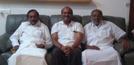 தமிழகத்தில் தேர்தல் ஓவர் - கேரளா சென்ற பி.ஜே.பி வேட்பாளர்கள்!