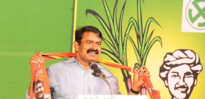 `செலவழித்த பணத்தையாவது திருப்பிக் கொடுங்கள்!' - தேர்தல் ஆணையத்தின் மீது பாயும் சீமான்