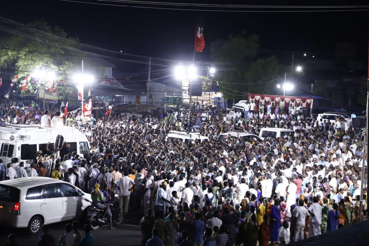 தேர்தல் பிரசாரத்தில் துணை முதல்வர்