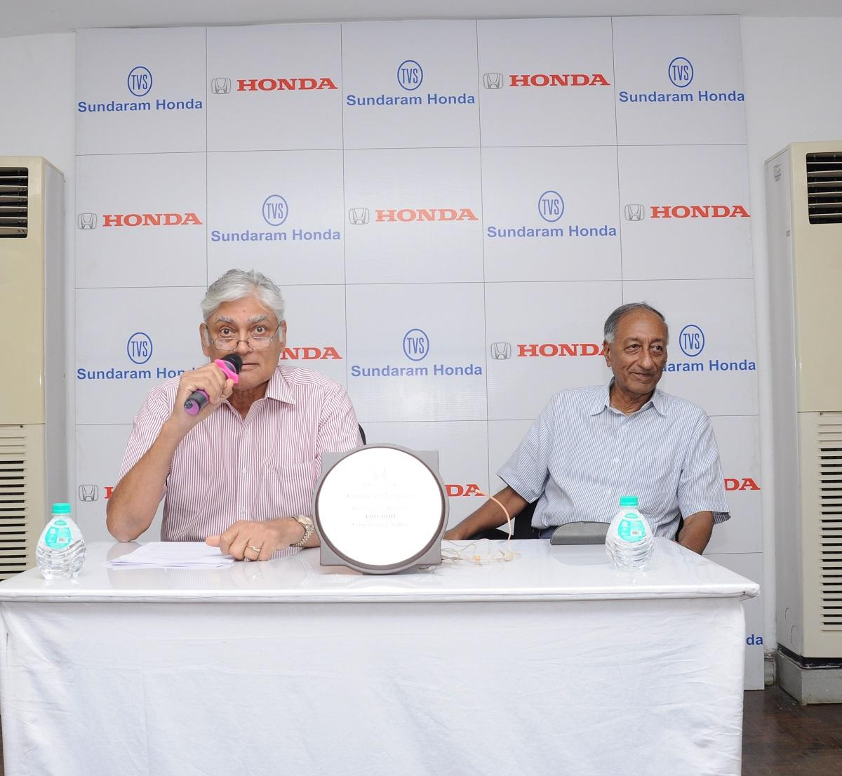 Sharath Vijayaraghavan, Executive Director, Sundaram Motors / S. Ram, Joint Managing Director, Sundaram Motors