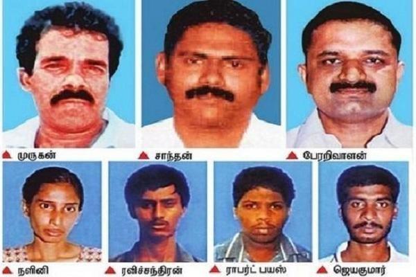 ராஜிவ் காந்தி வழக்கில் தண்டனை பெற்றவர்கள்