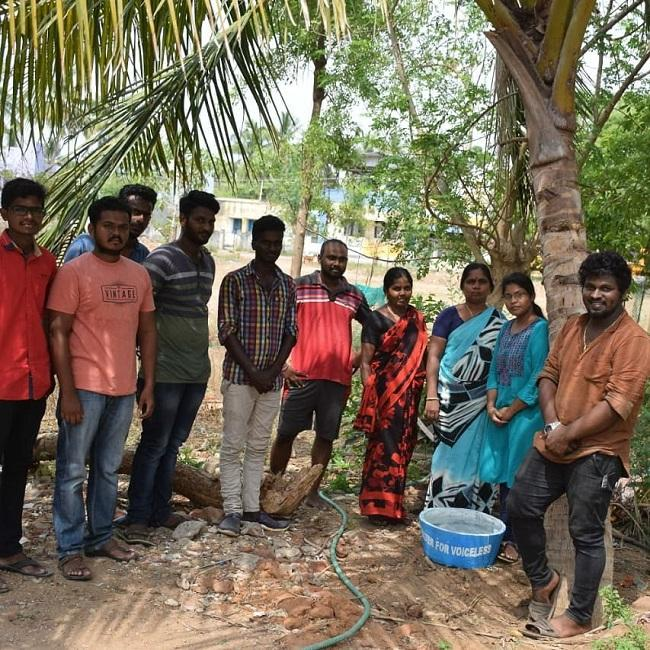 Water for voiceless