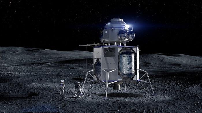 Blue Moon lunar lander - நிலா