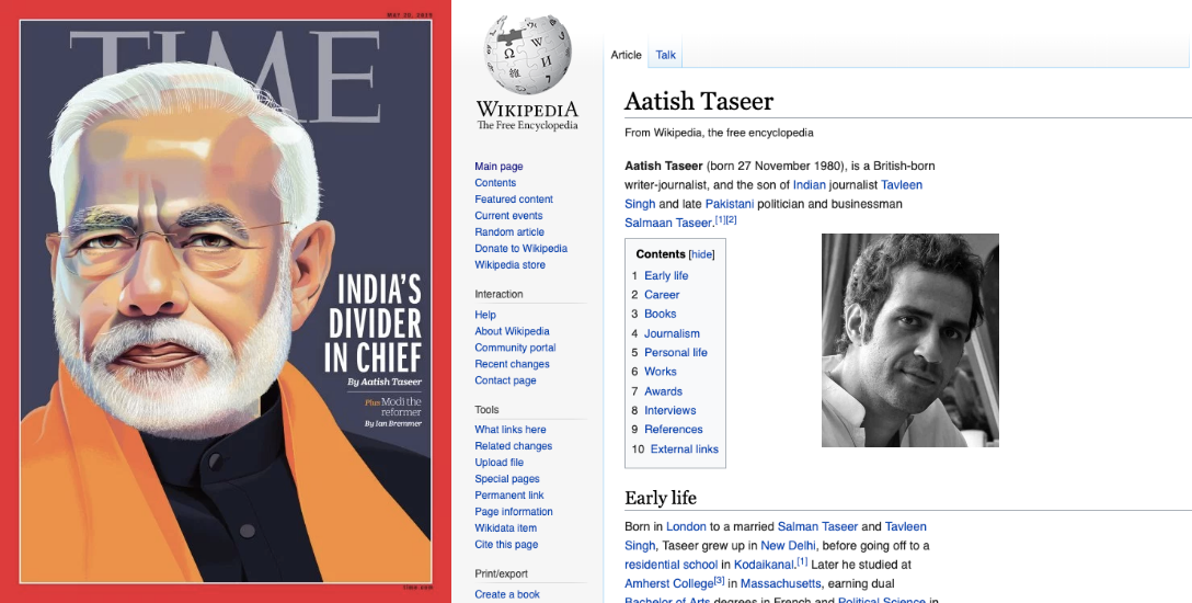 மோடியை விமர்சித்த 'டைம்...' பதிலுக்கு வரலாற்றைத் திரித்த மோடி ஆதரவாளர்கள்! #FactCheck