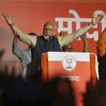 `இப்போது இரண்டு விஷயங்கள்தான் உள்ளன!' - வெற்றிகுறித்து மோடி #ElectionResults2019