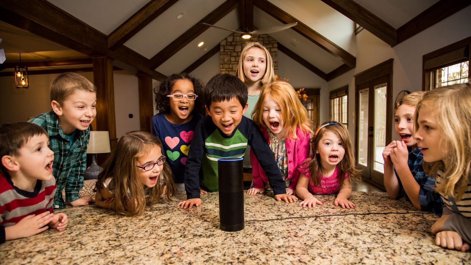 Kids VS Smart Speakers
