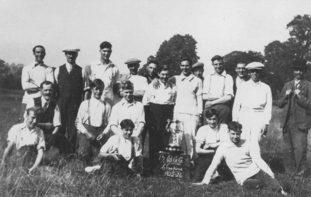 Old Cricket Team