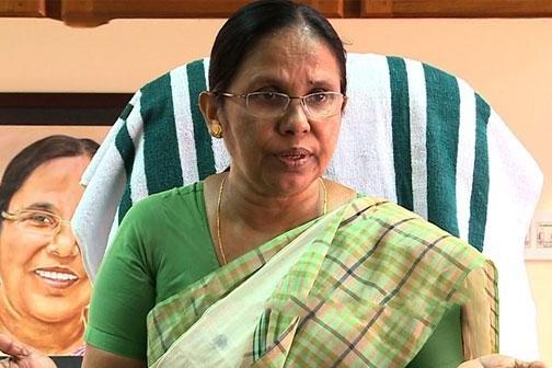 கே.கே ஷைலஜா