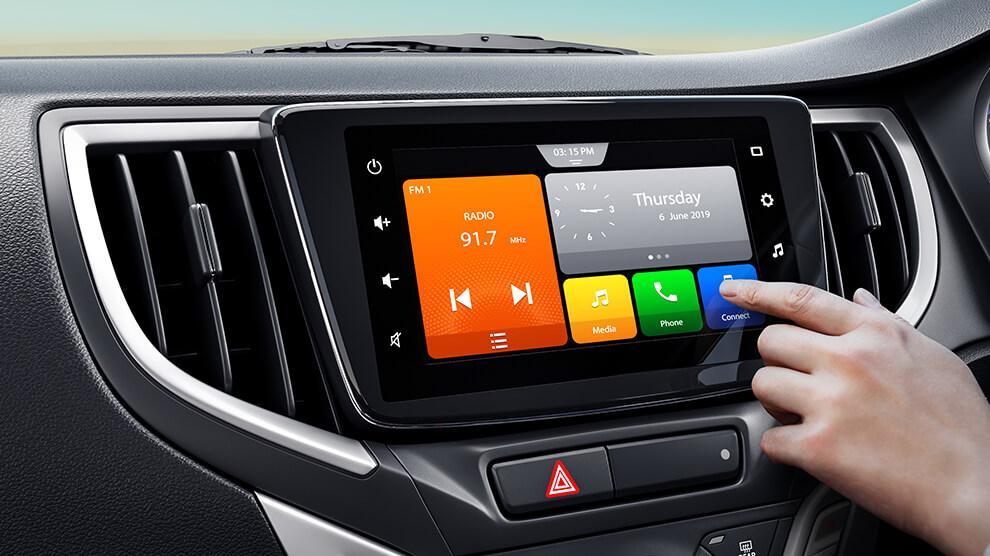 Glanza touchscreen