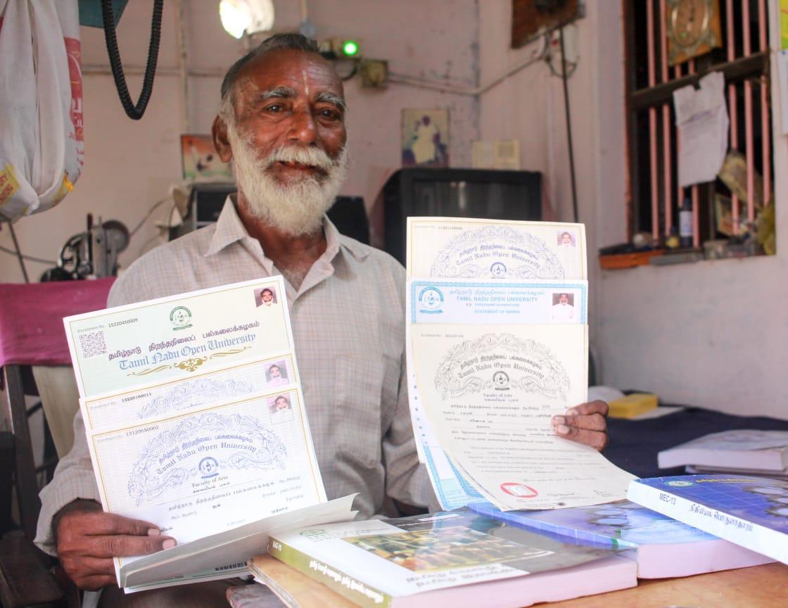 டிகிரி தாத்தா
