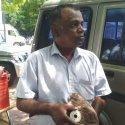 இஸ்ரோ, நாசா கவனத்துக்கு.... விண்கல்லைக் கொண்டு வந்த கோவை பிரமுகர்