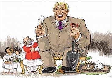 ''விவசாய மானியங்களுக்கு வெட்டு... கார்ப்பரேட் கம்பெனிகளுக்கு துட்டு!''