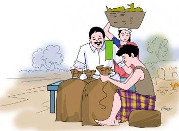 மரத்தடி மாநாடு: பள்ளிகளில் மூலிகைப் பூங்கா... வனத்துறை ஏற்பாடு!