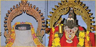 வேம்பாக மீனாட்சி... அரச மரமாக சொக்கநாதர்!