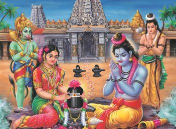 நல்வாழ்வு அருளும் நான்கு ராமேஸ்வரங்கள்!