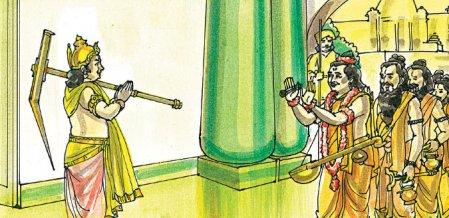 ஸ்ரீகிருஷ்ணர் செய்யும் பூஜை!