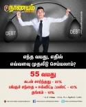 55 வயதுகாரர்கள் எதில் முதலீடு செய்ய வேண்டும்?