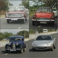 காமராஜர் கார் முதல் ஹிட்லர் கார் வரை.. பாண்டிச்சேரி வின்டேஜ் ராலி! #VintageCars