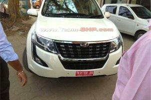 மஹிந்திரா XUV500 ஃபேஸ்லிஃப்டின் வேரியன்டுகள் வெளியாகியுள்ளன...