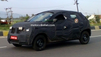 Exclusive : Renault's Small car Spied