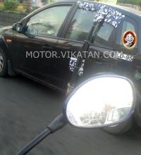மஹிந்திரா S101 காம்பேக்ட் காருடன், ஃபோர்டு ஃபிகோ டெஸ்டிங்!