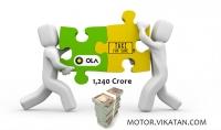 1,240 கோடி ரூபாய்க்கு TaxiForSure நிறுவனத்தை வாங்கியது Ola கேப்ஸ்!
