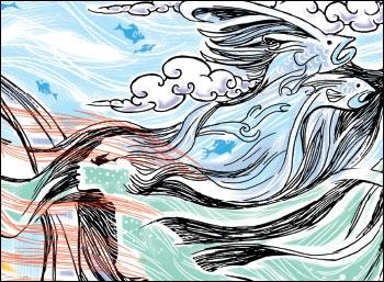 முந்தைய கணத்தின் ஓவியம் - சஹானா