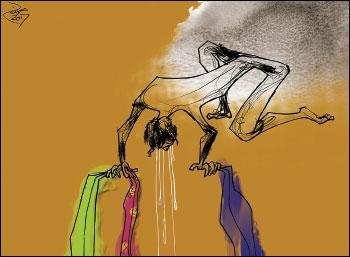 மூன்று சீலைகள் - நரன்