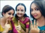`அம்மணி' பாட்டியும் டப்ஸ்மாஷ் பேத்தியும்!